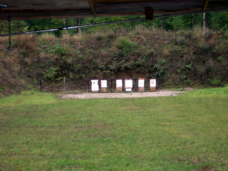 Back shooting range