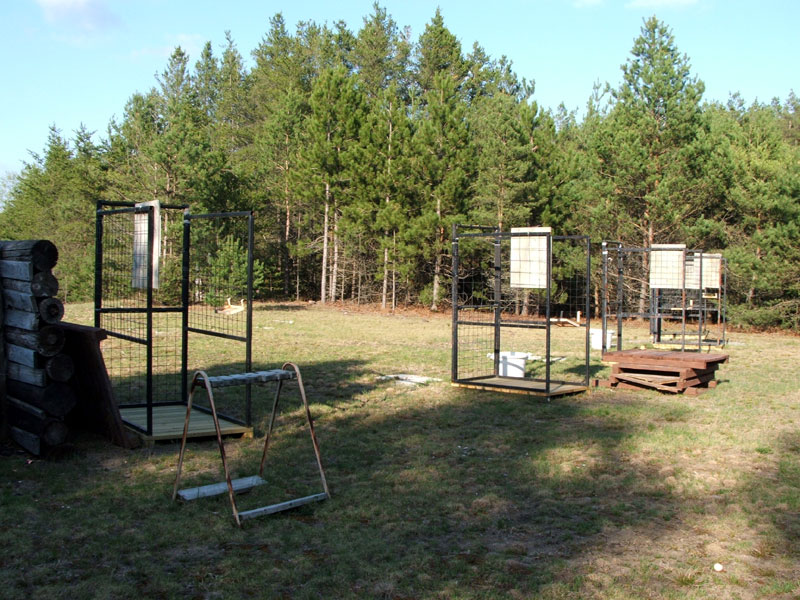 Shooting cages